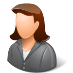 Office-Client-Female-Light-icon